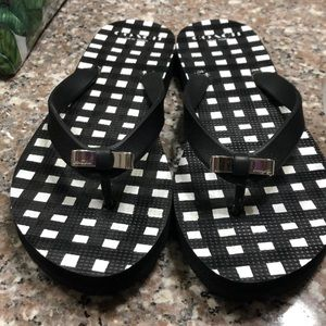 Coach Black Flip-Flops